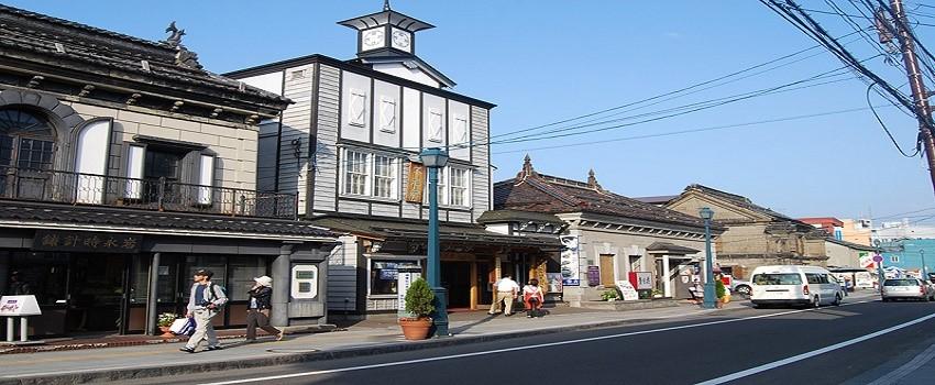 오타루 명물과자거리 사카이마치도리 堺町通り.jpg